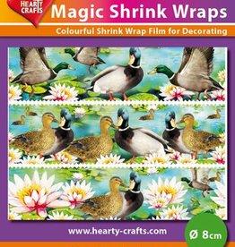 Hearty Crafts Magic Shrink Wraps, Ducks (⌀ 8 cm)