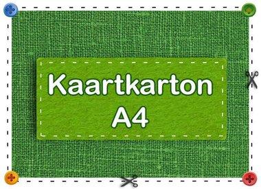 Kaartkarton A4