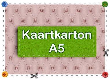 Kaartkarton A5