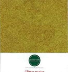 Central Craft Collection Glitterpapir A4 guld