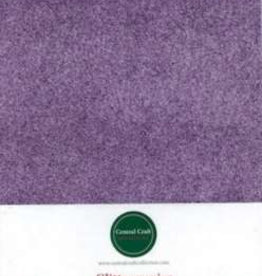 Central Craft Collection Glitterpapir lilla A4