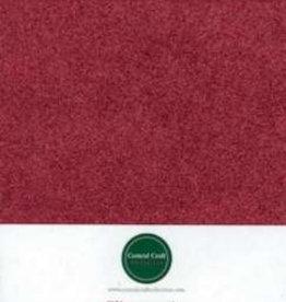 Central Craft Collection Glitterpapir rød A4