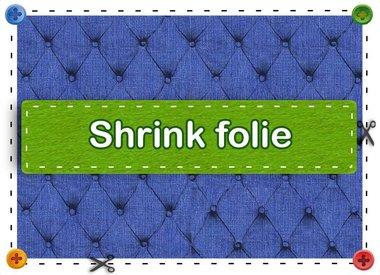 Christmas schrink foil