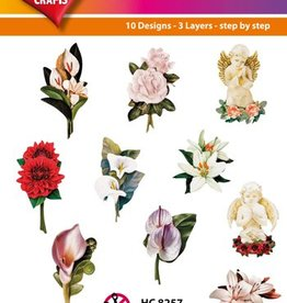 Hearty Crafts Easy 3D-Toppers - Condolence