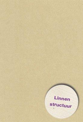 Hobbycentraal 13,5 x 27 cm  Linnen 10 vel tope