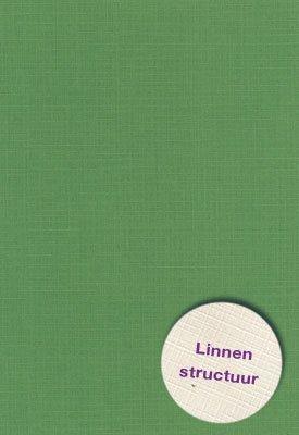 Hobbycentraal 13,5 x 27 cm  Linnen 10 vel Olijf