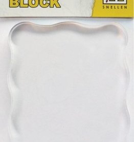Nellie's Choice Acrylic bloc 70x90x8mm AB006