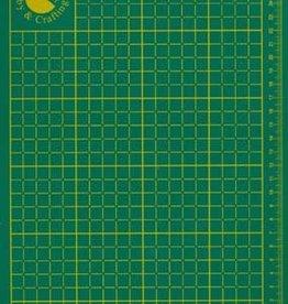 Hobby Crafting & Fun Cutting mat, Green, 220x300x2mm, 1 pce/ bag
