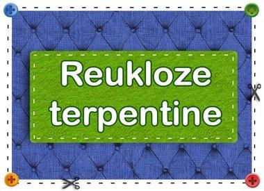 Reukloze terpentine