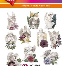 Hearty Crafts Easy 3D-Toppers Angels for Sympathy