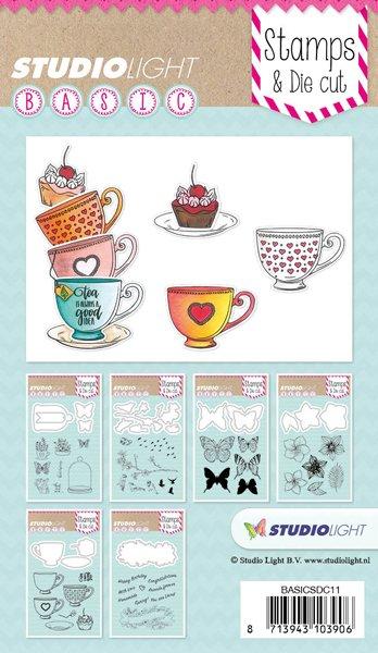 Studiolight Stamp & Die Cut (1) A6 Basics Nr.11