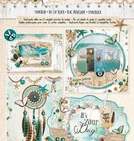 Studiolight Stansblok A4, content 12 sheets die cut, Summer Feelings nr.66