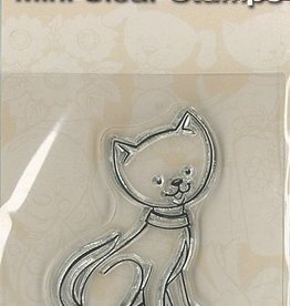 Pigo Productions Mini timbres transparents - Chat