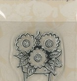 Pigo Productions Mini Clear Stamps - Bloemen