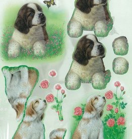 Die cut sheet Dogs