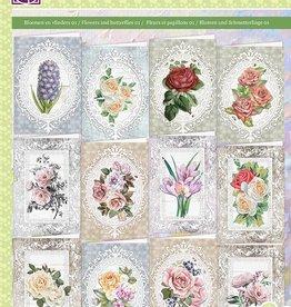 Creatief Art Collection folder: Flowers & Butterflies 01