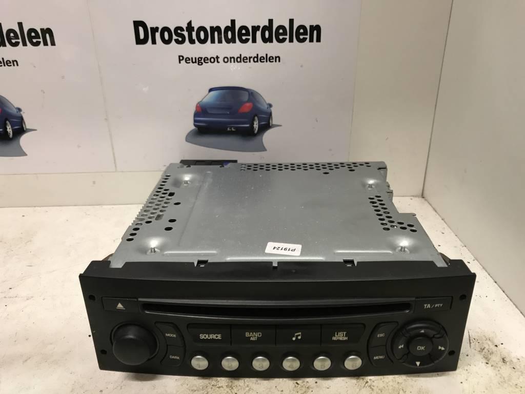 Radio Cd Speler 96750215xt Peugeot 207 Drostonderdelen