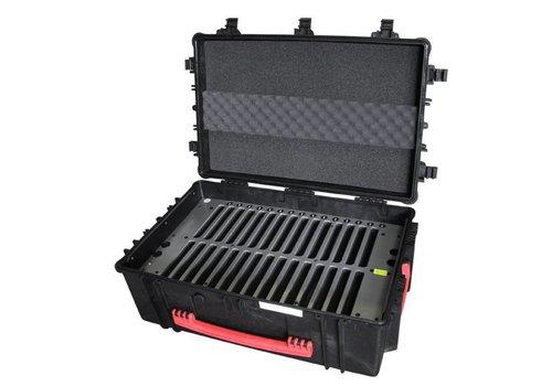 """Parotec-IT charge & sync C14 koffer voor 30 iPads en 9-10"""" tablets met en zonder dunne beschermhoes"""