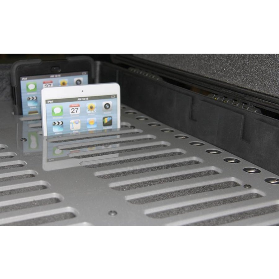 """iNsync C14; robuuste koffer voor 30 iPad Air en 10""""-11"""" tablets, koffer/kar op wieltjes met slot voor opbergen, opladen, synchroniseren & transport-4"""