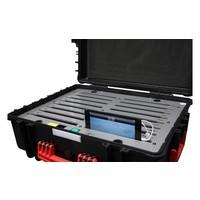 iNsync C34 opberg, laad, synchronisatie en transport koffer voor maximaal 16 kleine iPad of 7-8 inch tablets