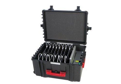Parotec-IT charge & sync CL44 koffer voor 16 iPads zonder en met beschermhoes