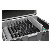 iNsync CL44 opberg, laad, synchronisatie en transport koffer voor maximaal 16 iPads of 10-11 inch tablets