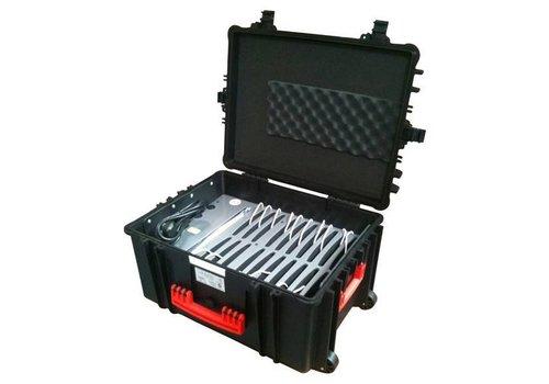 Parotec-IT iNsync CL41 iPad Fall; Aufbewahrung und Transport von bis zu 20 iPads ohne und mit Schutzhülle