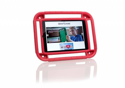 "Parotec-IT Gripcase iPad 5-iPad Air iPad Air 2 iPad Pro 9.7"" rood"