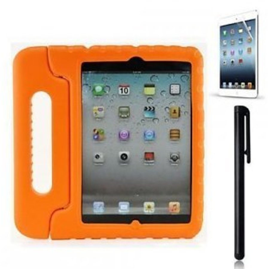 iPad kidscover case in de klas oranje-1