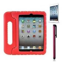 iPad kidscover case in de klas rood