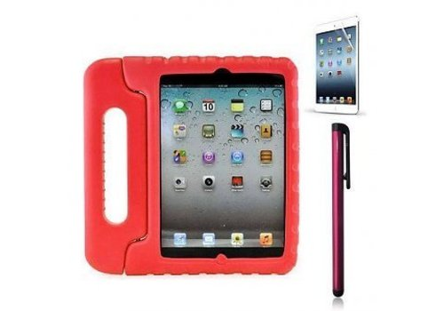 KidsCover iPad kids case in de klas rood