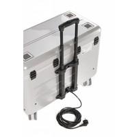 i20; mobiel oplaadstation voor 20 iPad, met compartiment indeling zilverkleur