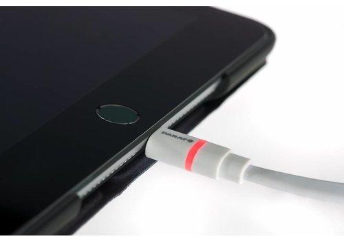 Parat extra stevige platte Lightning - USB kabel 50cm/120 cm