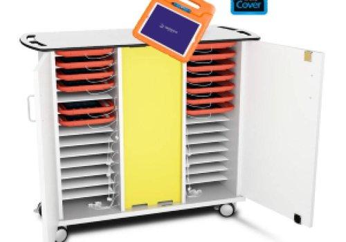 Zioxi laadkast met wielen voor 30 tablets in kinderhoezen