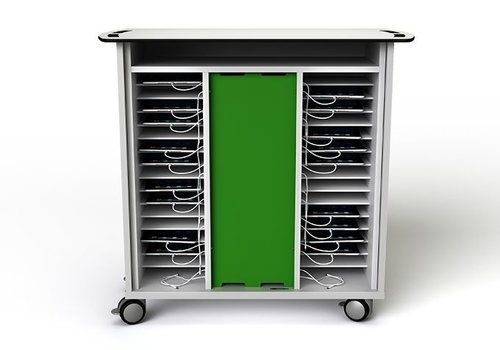 Zioxi charge cabinet with wheels for 32 iPads and tablets