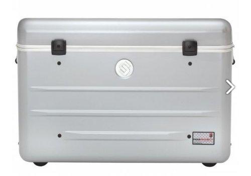 Parat charge N16 trolley koffer voor tablets met 16 vakken in het zilvergrijs