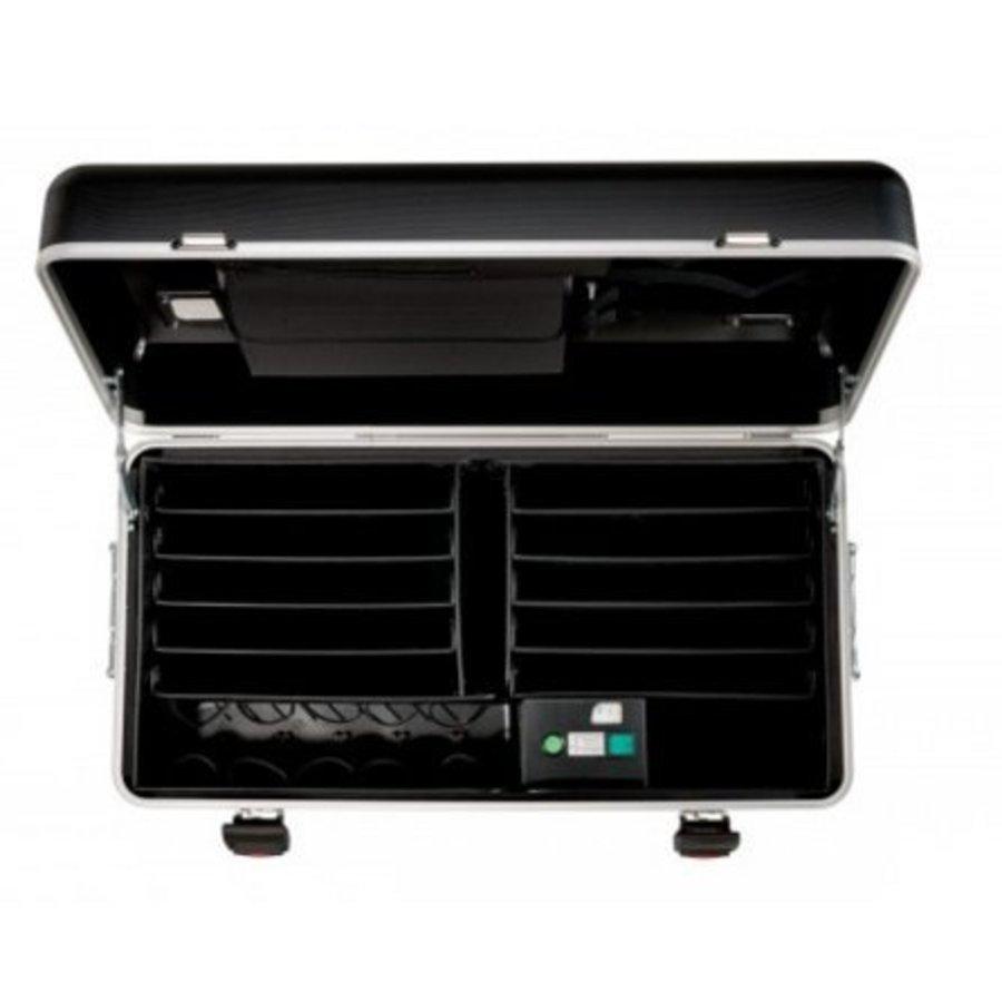 Parat N10 trolley koffer  Notebooks voor 10x 15,6'' in het zwart-3