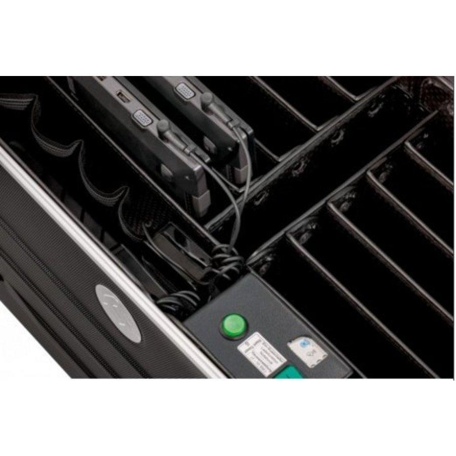 Parat N10 trolley koffer  Notebooks voor 10x 15,6'' in het zwart-4