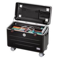 Paraproject N6 trolley case 6x ipad 6x chromebook zwart