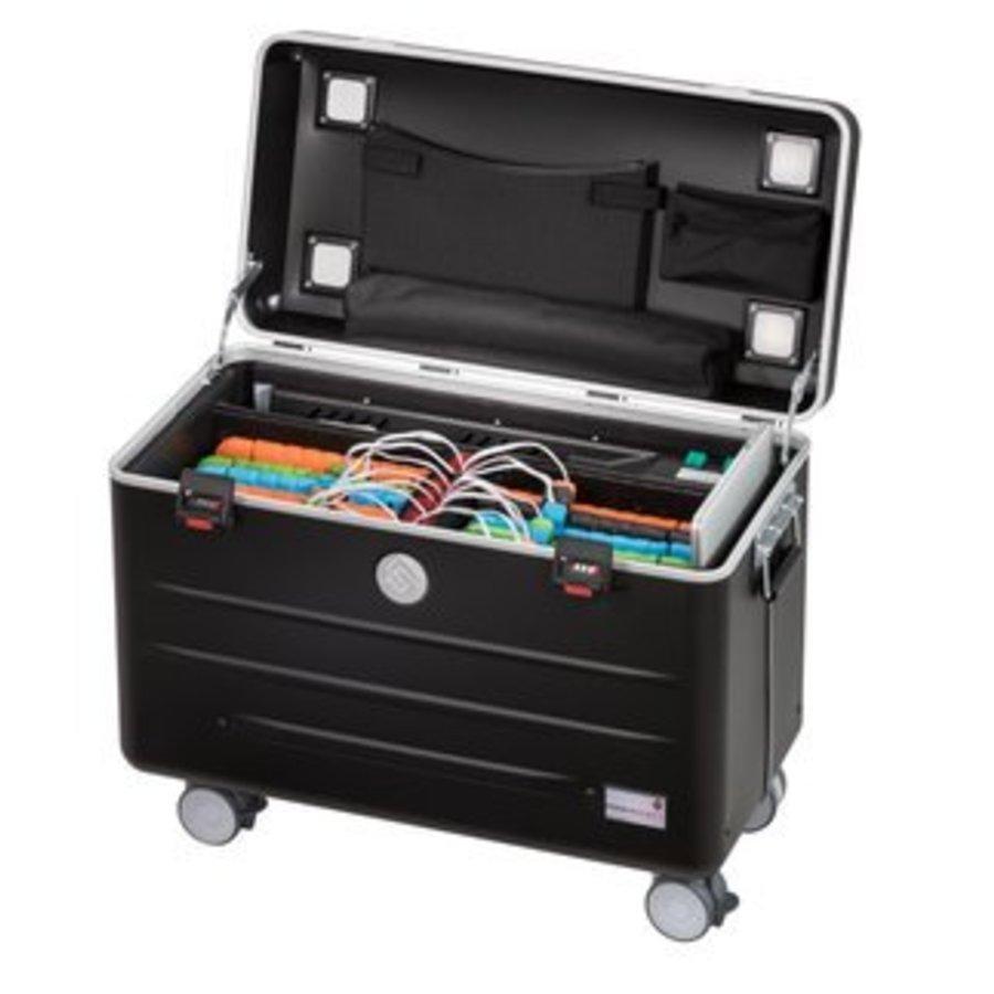 Paraproject N6 trolley case 6x ipad 6x chromebook zwart-1