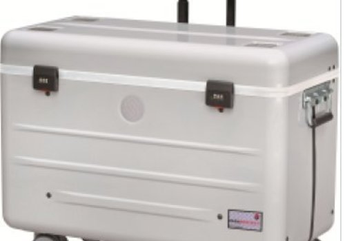 Parat charge N12 Systemkoffer mit Rollen  fuer Notebooks silbergrau