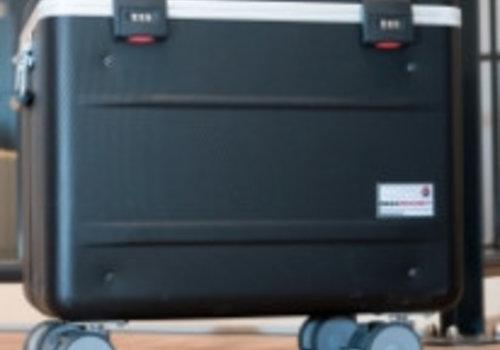 Parat charge N12 Systemkoffer mit Rollen  fuer Notebooks schwarz