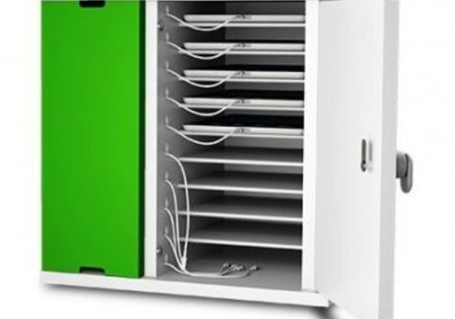 Zioxi charging cabinet for 10 iPads and tablets between 8 and 11 inch
