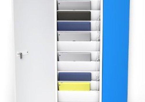 "Zioxi Ladeschrank Wandbefestigung fuer 10 iPads und 9""-11"" Tablets"