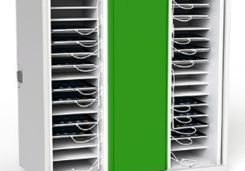 Zioxi charge & sync Schrank fuer 32 iPads und Tablets