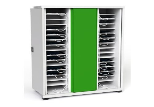 Zioxi charge & sync cabinet for 32 iPads and tablets