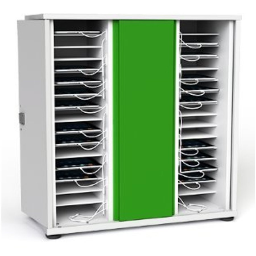 Zioxi iPad charge&sync kast voor 32 tablets-2