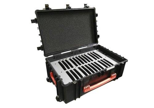 """Parotec-IT charge & sync C12 koffer voor 24 iPads en 9-10"""" tablets zonder en met beschermhoes"""