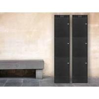 Leba Note Locker 4 oplaad- en opbergkast met 4 afzonderlijke, afsluitbare en opbergruimtes