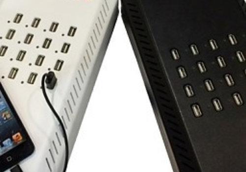 Parotec-IT charge & sync DU16 desktop Ladestation mit 16 USB Anschluesse